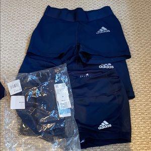 Adidas Navy blue spandex size S/M